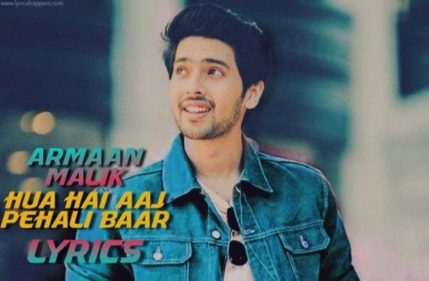 Hua Hai Aaj Pehali Baar Lyrics  Sanam Re  Aemaan Malik