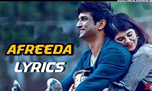 Afreeda Lyrics|Dil Bechara